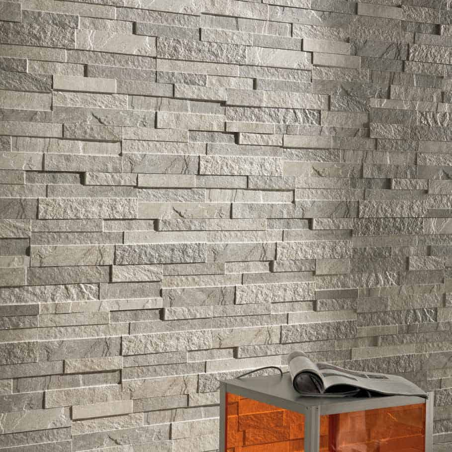 Stone wall tile design contemporary tile design ideas for Faux carrelage mural a coller