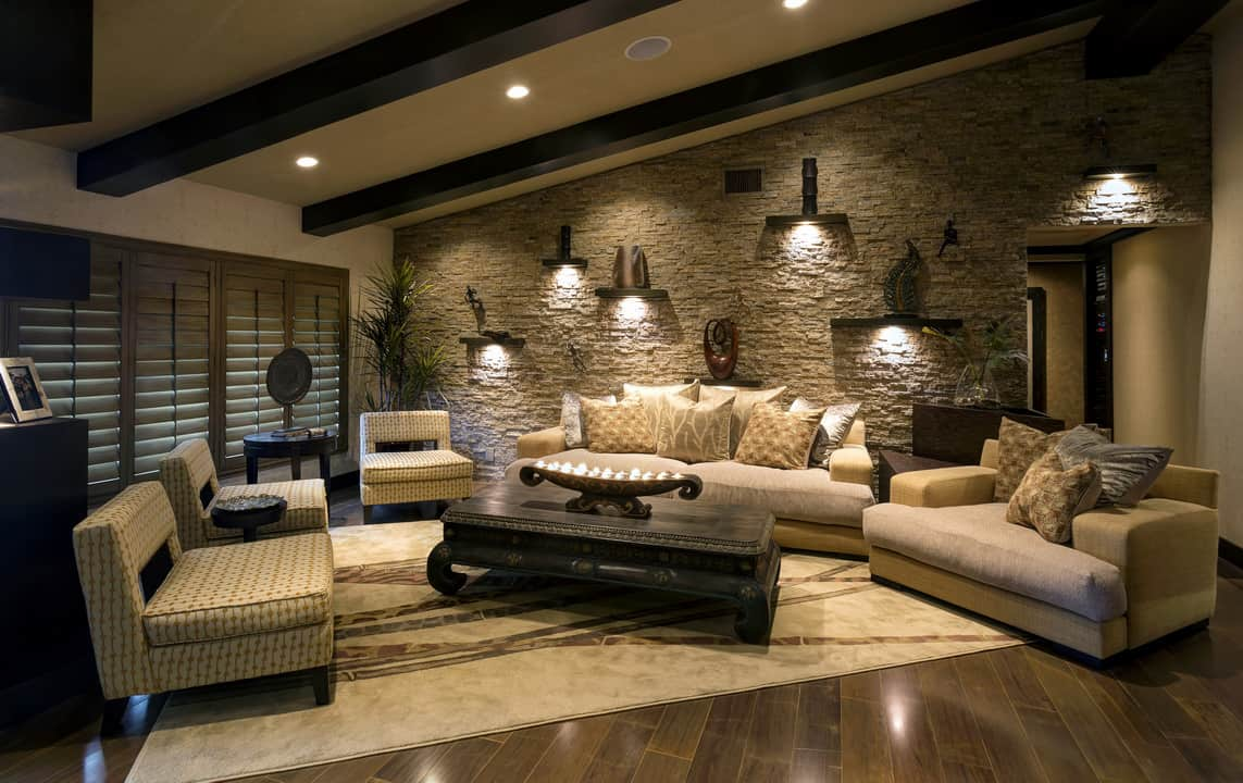 Stone Wall Tile Example – Contemporary Tile Design Ideas From Around ...