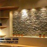 Stone Wall Tile Photo