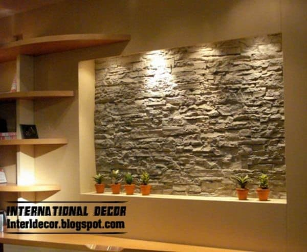 Stone Wall Tile Photo